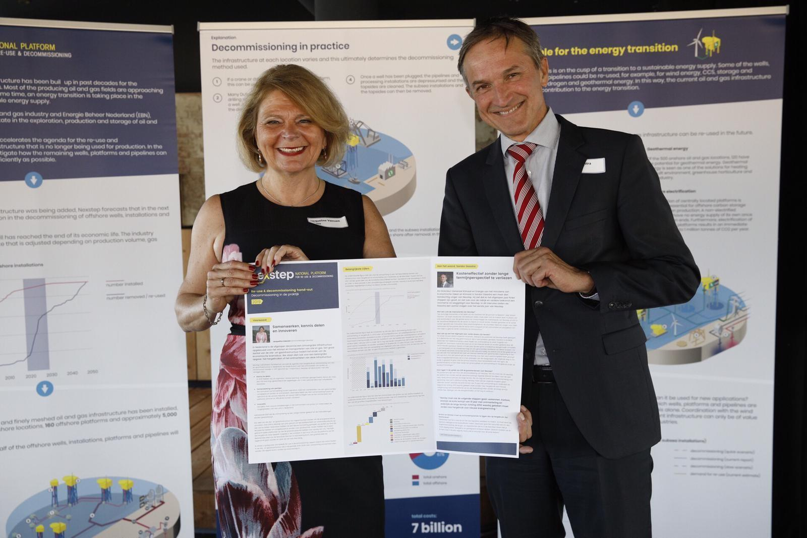 Re-use & decommissioning rapport 2019 gepresenteerd