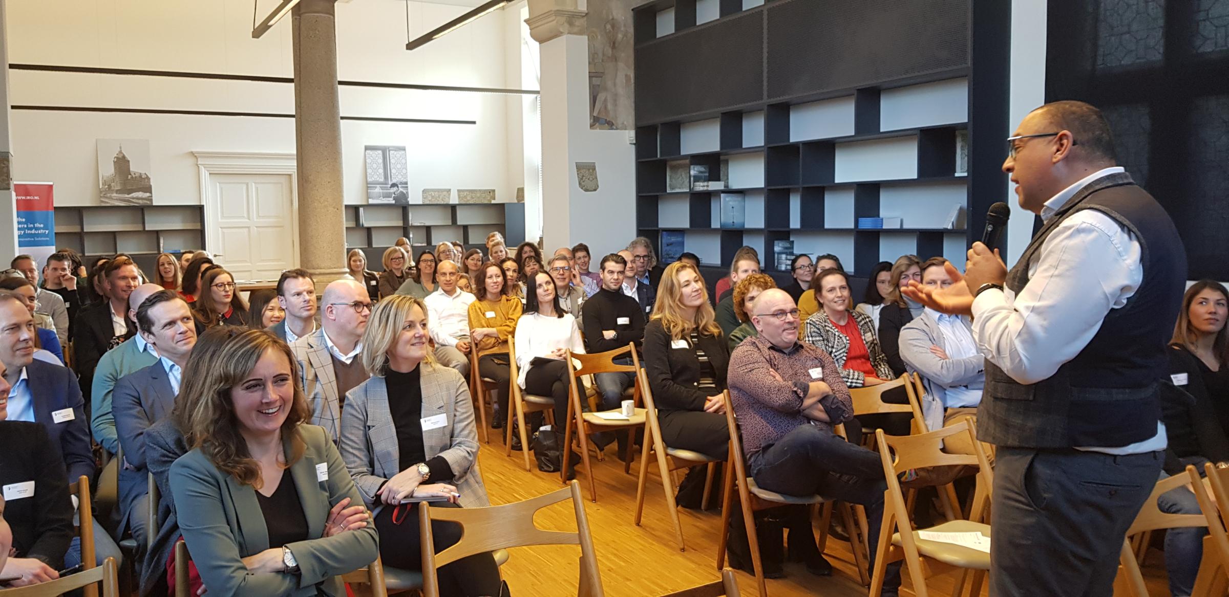 NMT-IRO MarCom event 'Digital value creation' a great success!